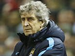 "Football Soccer - Liverpool v Manchester City - Barclays Premier League - Anfield - 2/3/16  Manchester City manager Manuel Pellegrini  Action Images via Reuters / Lee Smith  Livepic  EDITORIAL USE ONLY. No use with unauthorized audio, video, data, fixture lists, club/league logos or ""live"" services. Online in-match use limited to 45 images, no video emulation. No use in betting, games or single club/league/player publications.  Please contact your account representative for further details."