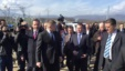 Macedonia Minister Tours Migrant Site With Slovak PM
