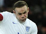 Wayne Rooney of England scores, 2-0. Football: Friendly International: England 2 France 0.