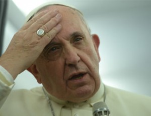 Pope Francis     AFP PHOTO