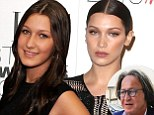 What did she do to her face? Bella Hadid is almost unrecognizable from six years ago as it's claimed she 'went to town with her father's credit card' By HEIDI PARKER FOR DAILYMAIL.COM PUBLISHED: 17:40 EST, 3 March 2016 | UPDATED: 19:05 EST, 3 March 2016       103 View comments Bella Hadid has one of the most stunning faces in the modeling business. But six years ago the sister of Balmain spokesperson Gigi Hadid, 20, didn't quite look the same with a rounder nose and thinner lips. And this week, Star magazine is reporting the girlfriend of The Weeknd had some help getting those perfect features. Scroll down for video     Read more: http://www.dailymail.co.uk/tvshowbiz/article-3475579/Bella-Hadid-went-town-father-s-credit-card-change-face.html#ixzz41tBqeIYt  Follow us: @MailOnline on Twitter | DailyMail on Facebook