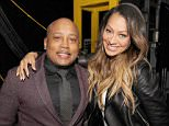 Mandatory Credit: Photo by Startraks Photo/REX/Shutterstock (5583353g) Daymond John & La La Anthony Market America World Conference, Day 2, Miami, Florida, America - 05 Feb 2016