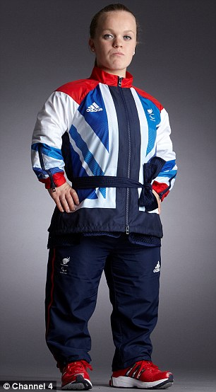 Ellie Simmonds was born with dwarfism and a swimmer who won gold at Beijing when she was just 13