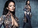 Rihanna British Vogue - for online use.jpg RIHANNA / BRITISH VOGUE Rihanna on the cover of BRITISH VOGUEís April issue, which goes on sale next Thursday. We would love to offer you the attached image to run alongside quotes at the end of this email and would just need: - the cover of British Vogue shown alongside a minimum 2 inches tall - a link to vogue.co.uk - credit for photographer Craig McDean - the line ësee the full shoot in the April issue of British Vogue, on sale Thursday 10th March' Styled by British Vogueís Kate Phelan in the shot by Craig McDean, Rihanna wears denim chap boots with belt and embellishment from the Rihanna x Manolo Blahnik collection.