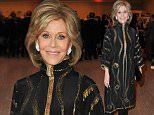 BEVERLY HILLS, CA - MARCH 02:  Actress Jane Fonda and Richard Perry attend the 2016 Los Angeles Dinner: What You Do Matters presented by the United States Holocaust Memorial Museum at The Beverly Hilton Hotel on March 2, 2016 in Beverly Hills, California.  (Photo by Allen Berezovsky/WireImage)
