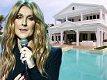 Here is Celine Dion's $20 million home on Jupiter Island in Florida. The singer let the cameras into her mansion during an appearance on Oprah Winfrey's US chat show. The house has it's own water adventure park in the back yard, which is made up of two swimming pools, two water slides and a tree house. The palatial home also includes a tennis court with basketball hoops and grounds big enough for Dion's eldest son, Rene-Charles Angelil, to play baseball.....Pictured: Celine Dion's house on Jupiter Island, Florida....Ref: SPL251110  210211  ..Picture by: ABC/Splash News....Splash News and Pictures..Los Angeles:\\t310-821-2666..New York:\\t212-619-2666..London:\\t870-934-2666..photodesk@splashnews.com........Splash News and Picture Agency does not claim any Copyright or License in the attached material. Any downloading fees charged by Splash are for Splash's services only, and do not, nor are they intended to, conve