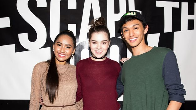 Hailee Steinfeld's Two Biggest Fans Covered 'Rock Bottom,' Then Got To Hang With Her