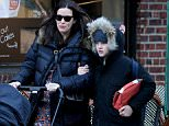 EXCLUSIVE: Actress Liv Tyler walks with her sons Milo Langdon and Sailor Gardner in West Village in New York City on March 3, 2016.  Pictured: Liv Tyler,Milo Langdon,Sailor Gardner Ref: SPL1239925  030316   EXCLUSIVE Picture by: Christopher Peterson/Splash News  Splash News and Pictures Los Angeles: 310-821-2666 New York: 212-619-2666 London: 870-934-2666 photodesk@splashnews.com