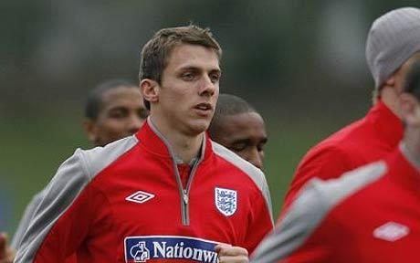 Stephen Warnock: England defender at World Cup 2010