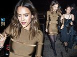 Balmain After Show Party at Laperouse restaurant during Paris Fashion Week. 3/3/2016  Pictured: Jessica Alba Ref: SPL1240363  030316   Picture by: KCS Presse / Splash News  Splash News and Pictures Los Angeles: 310-821-2666 New York: 212-619-2666 London: 870-934-2666 photodesk@splashnews.com