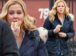 *EXCLUSIVE* New York, NY - Amy Schumer sneaks in a meat sandwich between scenes while filming her American comedy series 'Inside Amy Schumer' in New York.\n \n AKM-GSI   March  3, 2016\nTo License These Photos, Please Contact :\nSteve Ginsburg\n(310) 505-8447\n(323) 423-9397\nsteve@akmgsi.com\nsales@akmgsi.com\nor\nMaria Buda\n(917) 242-1505\nmbuda@akmgsi.com\nginsburgspalyinc@gmail.com