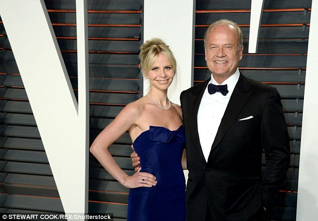 Kelsey Grammer, pictured with wife Kayte Walsh, will make his West End debut in Finding Neverland