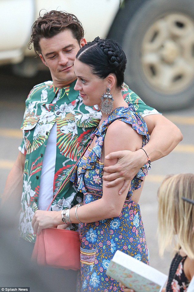 It's official! Katy Perry and Orlando Bloom appear to have confirmed that they are very much an item as they put on an amorous display while enjoying a sun-soaked break in Hawaii last week