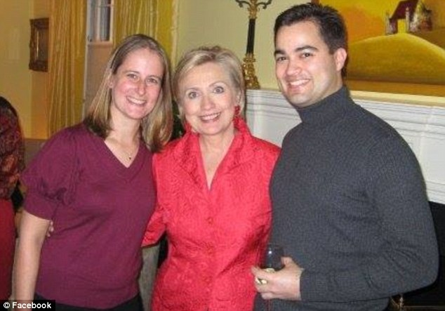 Flipped: IT specialist Bryan Pagliano (pictured right with Hillary Clinton and his wife Carrie) is now cooperating with the FBI in its investigation into Democratic Presidential candidate Hillary Clinton's private email server