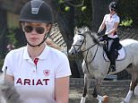 148922, EXCLUSIVE: Iggy Azalea is riding her horse and seen jumping for the first time with the horse in Los Angeles. Los Angeles, California - Wednesday March 2, 2016. Photograph: Miguel Aguilar, © PacificCoastNews. Los Angeles Office: +1 310.822.0419 sales@pacificcoastnews.com FEE MUST BE AGREED PRIOR TO USAGE