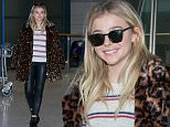 INCHEON, SOUTH KOREA - MARCH 03:  Chloe Moretz is seen upon arrival at Incheon International Airport on March 3, 2016 in Incheon, South Korea.  (Photo by Han Myung-Gu/GC Images)
