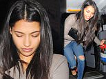 2.March.2016 - LONDON - UK **EXCLUSIVE ALL ROUND PICTURES** 'The Saturdays' singer Vanessa White looks a little worse for wear as she leaves Raffles Club in London after partying the night away with her friends!  BYLINE MUST READ : XPOSUREPHOTOS.COM ***UK CLIENTS - PICTURES CONTAINING CHILDREN PLEASE PIXELATE FACE PRIOR TO PUBLICATION *** **UK CLIENTS MUST CALL PRIOR TO TV OR ONLINE USAGE PLEASE TELEPHONE  44 208 344 2007 ***
