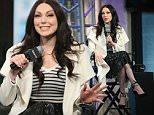 "NEW YORK, NY - MARCH 02:  Actress Laura Prepon speaks at AOL Build Presents: ""The Stash Plan"" at AOL Studios In New York on March 2, 2016 in New York City.  (Photo by Monica Schipper/FilmMagic)"