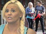 Picture Shows: Kerry Katona  February 25, 2016    ** Min Web / Online Fee For Set £400 **    Kerry Katona seen working out with a male friend at a local gym.    ** Min Web / Online Fee For Set £400 **    Exclusive All Rounder  WORLDWIDE RIGHTS  Pictures by : FameFlynet UK © 2016  Tel : +44 (0)20 3551 5049  Email : info@fameflynet.uk.com