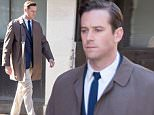 Armie Hammer filming scenes for 'Final Portait' in South London, where the streets were transformed into 1920's Paris\nFeaturing: Armie Hammer\nWhere: London, United Kingdom\nWhen: 04 Mar 2016\nCredit: WENN.com