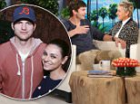 ASHTON KUTCHER joins the The Ellen DeGeneres Show on Wednesday, March 2nd and tells Ellen his daughter loves when he sings ¿Wheels on the Bus¿ and the 'Whip Nae Nae' song just like her mom.   Ashton talks to Ellen about how he and wife Mila Kunis went under the radar to plan their wedding and tried to keep things very under wraps.   Ashton also talks to Ellen about always worrying about his daughter Wyatt and how he wishes kids came with an instinct detector for fire and ledges!  Plus, Ashton plays ¿Pie In Your Face¿ with special guest and co-star Danny Masterson and wins $10,000 from Chideo for his charity Thorn, which is the digital police for kids on the internet.  \n