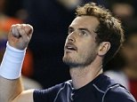 Great Britain's Andy Murray reacts after winning against Japan's Taro Daniel during their Davis Cup world group first round men's singles tennis match between Great Britain and Japan in Birmingham, central England, on March 4, 2016. Murray won the match 6-1, 6-3, 6-1. / AFP / JUSTIN TALLISJUSTIN TALLIS/AFP/Getty Images