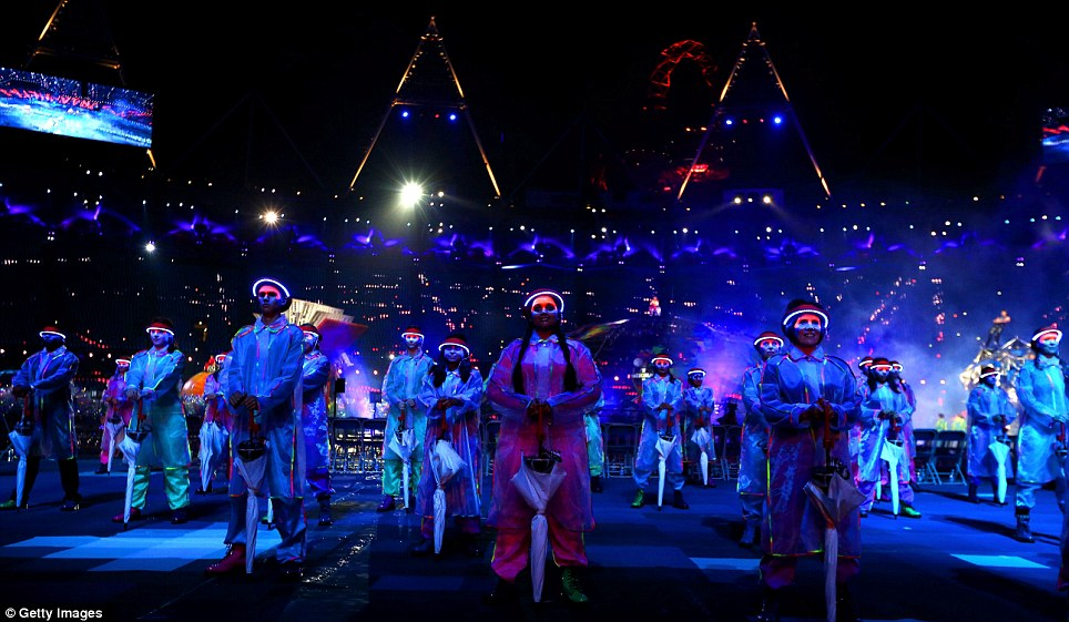 Stat's interesting: 18,000 LED lights were included in the performers' hat brims, while 23 sway poles featured in the opening ceremony