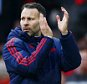 Manchester United assistant manager Ryan Giggs thanks the fans at the end of the game during the Barclays Premier league match between Manchester United and Arsenal played at Old Trafford, Manchester on February 28th 2016