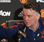 MANCHESTER, ENGLAND - MARCH 04:  (EXCLUSIVE COVERAGE) Manager Louis van Gaal of Manchester United speaks during a press conference at Aon Training Complex on March 4, 2016 in Manchester, England.  (Photo by John Peters/Man Utd via Getty Images)