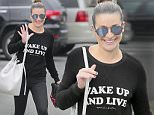 Lea Michele in a Wake Up and Live shirt with her mother after morning Soulcycle session in Brentwood.\n\nPictured: Lea Michele\nRef: SPL1235741  040316  \nPicture by: Splash News\n\nSplash News and Pictures\nLos Angeles: 310-821-2666\nNew York: 212-619-2666\nLondon: 870-934-2666\nphotodesk@splashnews.com\n