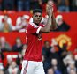 """Football Soccer - Manchester United v Arsenal - Barclays Premier League - Old Trafford - 28/2/16  Manchester United's Marcus Rashford applauds their fans after the match  Reuters / Phil Noble  Livepic  EDITORIAL USE ONLY. No use with unauthorized audio, video, data, fixture lists, club/league logos or """"live"""" services. Online in-match use limited to 45 images, no video emulation. No use in betting, games or single club/league/player publications.  Please contact your account representative for further details."""