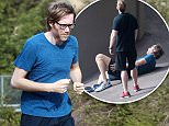 EXCLUSIVE. Coleman-Rayner. Los Angeles, CA, USA.\nMarch 3, 2016 \nComedian Stephen Merchant is seen during what looks to be a grueling run with his trainer in the Hollywood Hills. The British funnyman nearly passed out from exhaustion as he is seen sprawled out on the pavement following the strenuous workout.\nCREDIT LINE MUST READ: Coleman-Rayner\nTel US (001) 310 474 4343 - office \nTel US (001) 323 545 7584 - cell\nwww.coleman-rayner.com