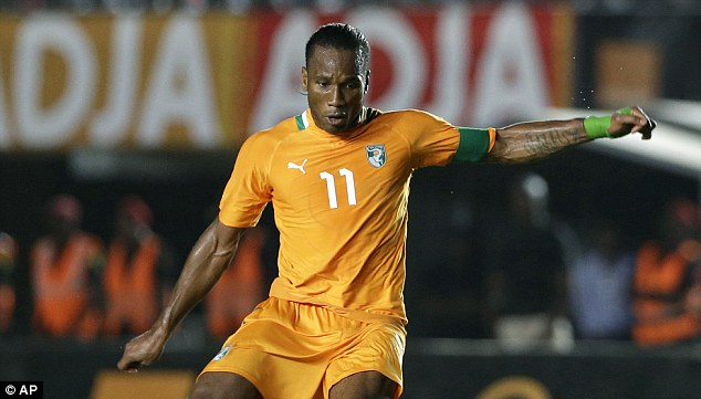 Proud: The Ivory Coast captain will now be focusing the 2014 World Cup in Brazil