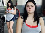 Exclusive... 51987533 Ariel Winter is spotted gaming up her car in Beverly Hills on March o4, 2016. The actress has been criticized online recently for allowing her breast reduction surgery scars to show at the SAG Awards. FameFlynet, Inc - Beverly Hills, CA, USA - +1 (310) 505-9876