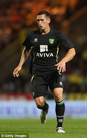 Going back: Andrew Crofts has re-joined Brighton from Norwich