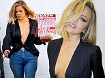 148891, Khloe Kardashian seen at a studio in Los Angeles. Los Angeles, California - Tuesday March 01, 2016. Photograph: PacificCoastNews. Los Angeles Office: +1 310.822.0419 sales@pacificcoastnews.com FEE MUST BE AGREED PRIOR TO USAGE