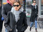 EXCLUSIVE: Model Alexa Chung spotted wearing Gucci shoes while walking around in New York City, after having lunch with a male friend at Gema restaurant\n\nPictured: Alexa Chung\nRef: SPL1240593  040316   EXCLUSIVE\nPicture by: Felipe Ramales / Splash News\n\nSplash News and Pictures\nLos Angeles: 310-821-2666\nNew York: 212-619-2666\nLondon: 870-934-2666\nphotodesk@splashnews.com\n