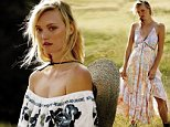 **Must include link to website: http://www.freepeople.com/ \n\n** Must credit Gred Kadel\n\nLifestyle brand Free People heads to Australia for their March 2016 campaign starring the beautiful and iconic Gemma Ward in Blue Mountain Baby. Styling highlights effortless looks from off the shoulder tops to flowy maxi dresses perfect for the upcoming spring season. The beautiful landscape of Australia provides as the perfect backdrop.