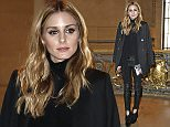 03.March.2016 - Paris, France *** AVAILABLE FOR UK SALE ONLY *** Olivia Palermo attending at Barbara Bui Ready to Wear fall/winter 2016/17 fashion show during Paris Fashion Week BYLINE MUST READ : E-PRESS / XPOSUREPHOTOS.COM ***UK CLIENTS - PICTURES CONTAINING CHILDREN PLEASE PIXELATE FACE PRIOR TO PUBLICATION *** **UK CLIENTS MUST CALL PRIOR TO TV OR ONLINE USAGE PLEASE TELEPHONE 0208 344 2007**