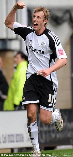 Derby County's Rob Hulse