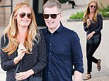 Cat Deeley and her husband Patrick Kielty leave Barneys in Beverly Hills  Pictured: Cat Deeley, Patrick Kielty Ref: SPL1241078  040316   Picture by: LA Photo Lab / Splash News  Splash News and Pictures Los Angeles: 310-821-2666 New York: 212-619-2666 London: 870-934-2666 photodesk@splashnews.com