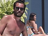 Exclusive... 51985614 Reality star Scott Disick is seen drinking and partying with a group of females while on vacation with 'Girls Gone Wild' founder Joe Francis and his girlfriend Abbey Wilson in Mexico on March 2, 2016. Scott seemed to be putting most of his attention toward the one dark haired bikini babe. Scott who recently got out of rehab looks to have relapsed as he is seen drinking beer and mixed drink while hanging out poolside. ***NO WEB USE W/O PRIOR AGREEMENT - CALL FOR PRICING*** FameFlynet, Inc - Beverly Hills, CA, USA - +1 (310) 505-9876