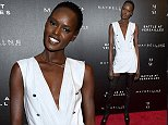 "NEW YORK, NY - MARCH 03:  Model Ajak Deng attends ""Battle Of Versailles"" New York Premiere at Paris Theater on March 3, 2016 in New York City.  (Photo by Dimitrios Kambouris/Getty Images for IMG)"
