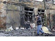 Fighting flares again in Ukraine's east