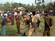 Muslims burned to death in India attack