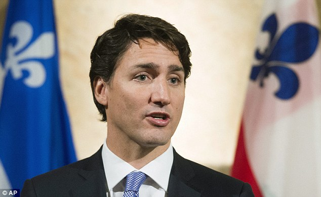 Justin Trudeau says Canadians would appreciate it if Americans paid more attention to what's going on around the globe in a 60 Minute Interview due to be aired Sunday