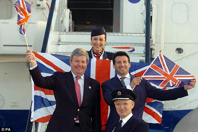 Dream Team: Sir Keith Mills and Lord Coe vowed to see out London's Olympic dream together