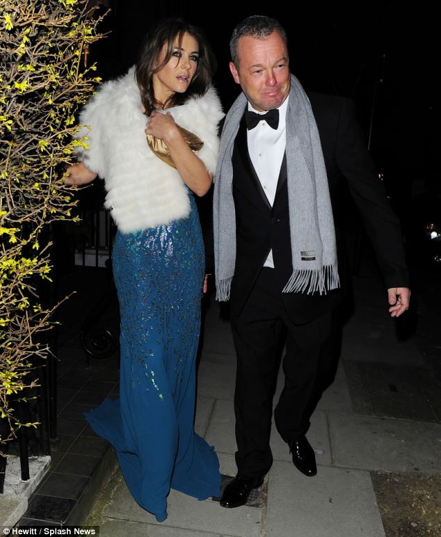 Liz Hurley was spotted earlier this month leaving her Chelsea home with a mystery man. He was later identified as Mr Yarrow