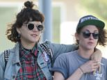 EXCLUSIVE: *PREMIUM EXCLUSIVE RATES APPLY* *NO WEB UNTIL 11.30PM PST, MARCH 3* Kristen Stewart gets close to a mystery woman after a healthy lunch at Gratitude cafe in LA. The woman put her arm around Kristen - who reportedly split with Alicia Cargile last year and has been linked to rocker Lyndsey Gunnulfsen - as they walked down the street.  Pictured: Kristen Stewart Ref: SPL1239761  030316   EXCLUSIVE Picture by: M A N I K (NYC) / Splash News  Splash News and Pictures Los Angeles: 310-821-2666 New York: 212-619-2666 London: 870-934-2666 photodesk@splashnews.com