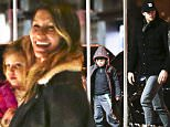 //\nExclusive: Tom Brady seen with son Benjamin and their nanny while Gisele Bundchen carries daughter Vivian as they arrive at their New York City apartment.\n Please byline:TheImageDirect.com\n*EXCLUSIVE PLEASE EMAIL sales@theimagedirect.com FOR FEES BEFORE USE